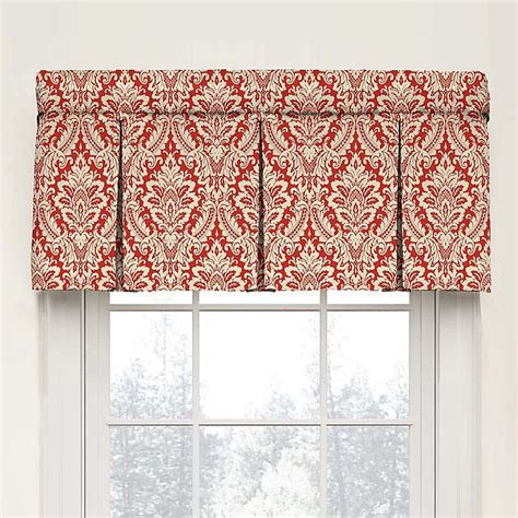 Waverly Wavelry Donnington Box Pleat Window Valance - Home .