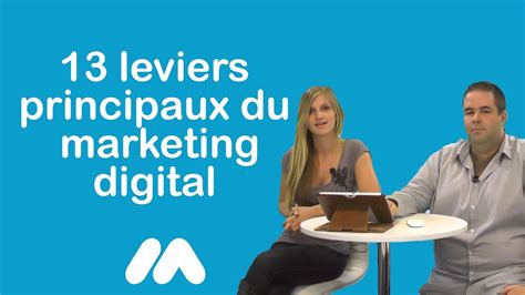 [click]webmarketing - 13 Leviers Principaux Du Marketing Digital - Tuto Market Academy Guillaume Sophie.