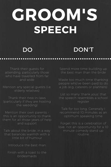 @ Wedding Speeches Headquarters - Groom Wedding Speech.