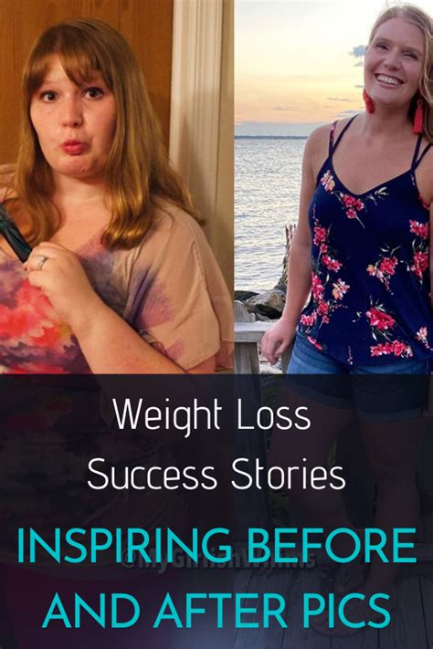 Weight Loss Success Stories: Inspiring Before & After Pics People.