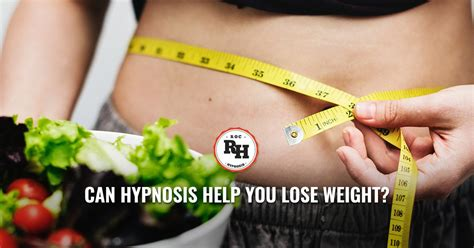 Weight Loss Hypnotherapy - Imagine Hypnosis Helping You Lose.