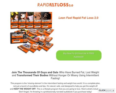 [click]welcome To The Leanfast Rapid Fat Loss Intermittent Fasting Program
