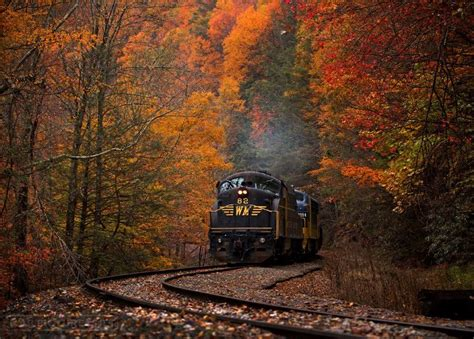 West Virginia Fall Foliage Train