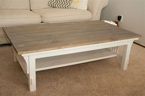 Western Coffee Tables Redo