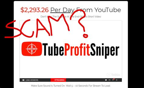 [click]what Is Tube Profit Sniper Is It A Scam  Quick Review .