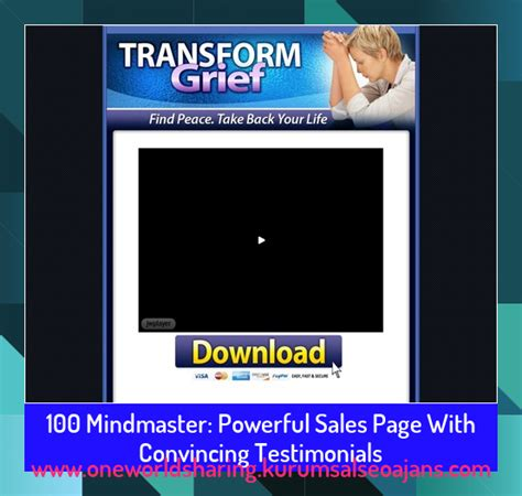 @ What Is Mindmaster Powerful Sales Page With Convincing .