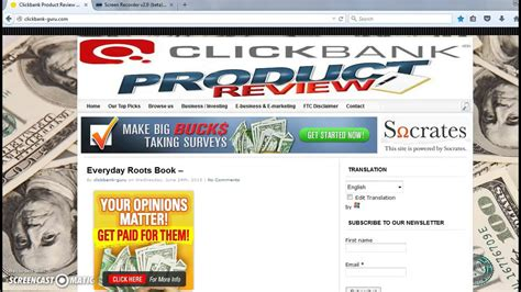 What Is Private Cash Sites - Clickbank Product Review.