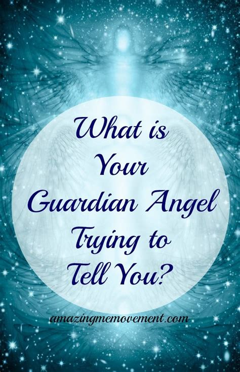 What Is Your Guardian Angel Trying To Tell You? Find Out Now.