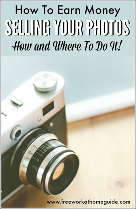 Where To Sell Photos Online How To Make Money With Photography.