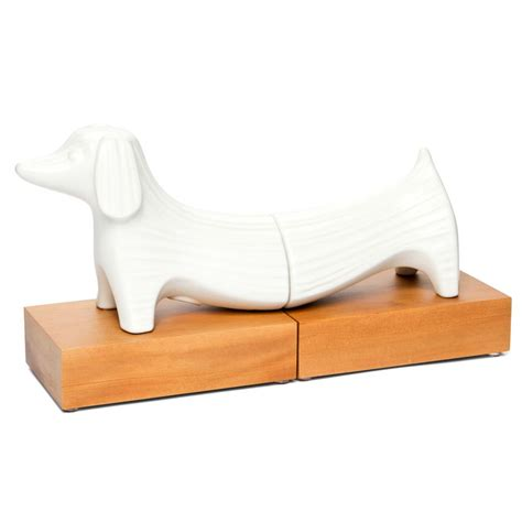 Where To Buy Jonathan Adler Dachshund Bookends W Wood .