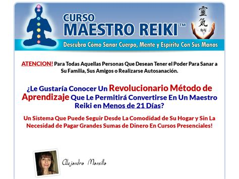 @ Where To Shop For Curso Maestro Reiki - Unico En Espa Ol .
