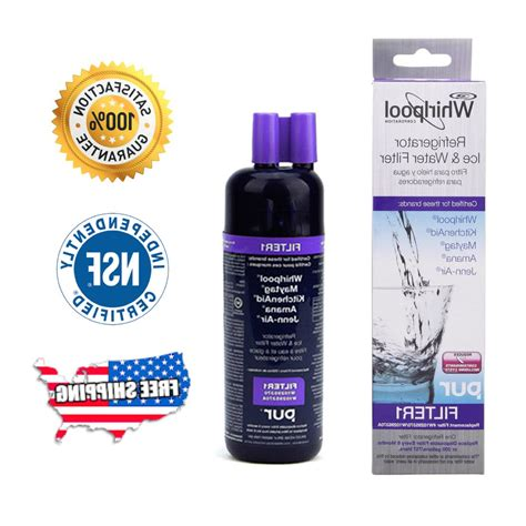 Whirlpool W10295370a Refrigerator Water Filter - Sears Com.