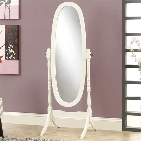 White Cheval Floor Mirror - Sears Com.