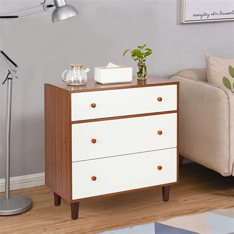 White Drawer Chest Wood