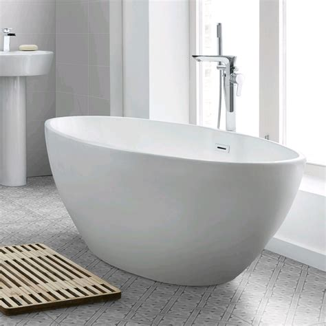 White Freestanding Bathtub Acrylic Bathtub With Different .
