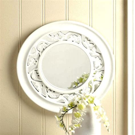 White Ivy Wall Mirror - 10016672.