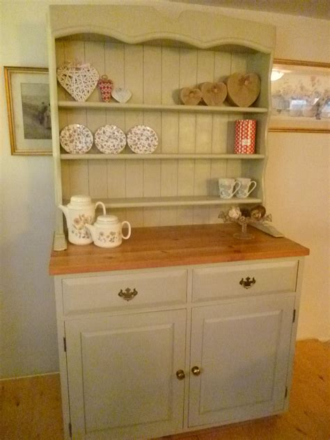 White Shabby Chic Welsh Dresser