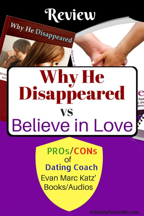Why He Disappeared - Dating Coach - Evan Marc Katz Understand.