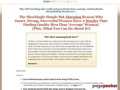 [pdf] Why He Disappeared - The Smart Strong Successful Womans .