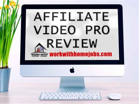 Why Use Affiliate Video Pro — Instant Affiliate Video Profit Maximiser.