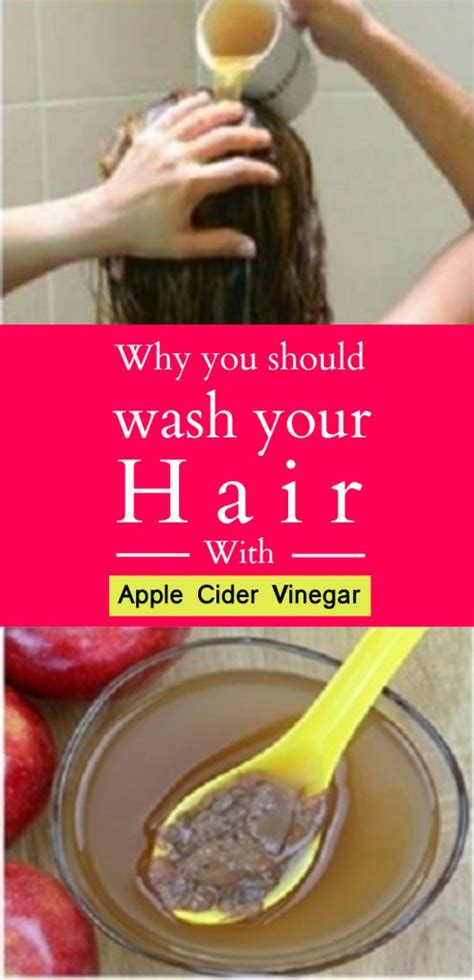 @ Why You Should Wash Your Hair With Apple Cider Vinegar.