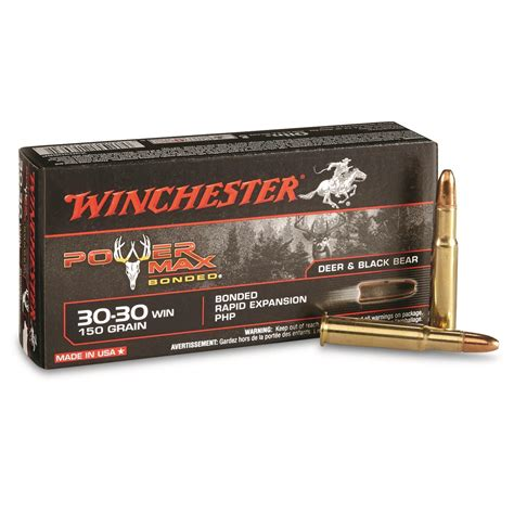 Winchester Super-X Power Max Bonded  30-30 Winchester .