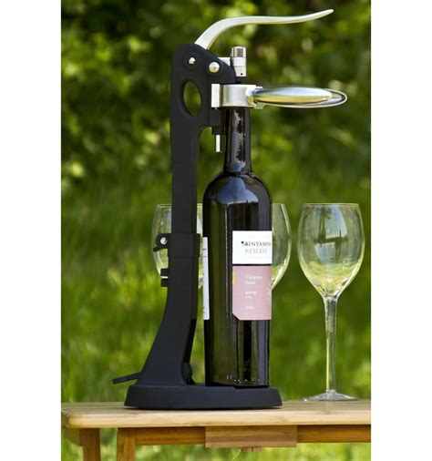 Wine Bottle Opener with Stand