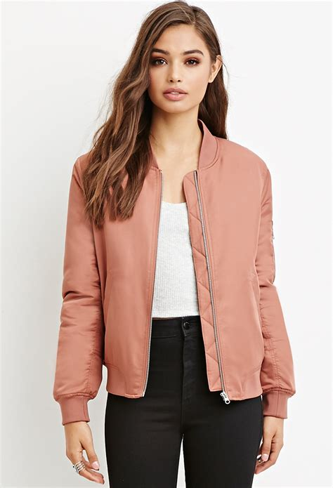 [click]women  S Coats  Jackets  Denim  Bomber Jackets  Forever 21.