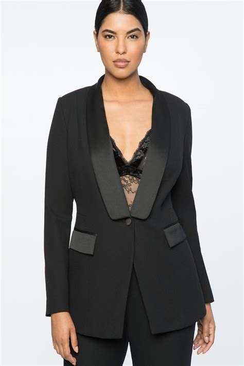 Women Tuxedo Jacket Size 20