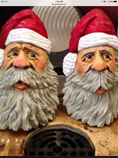 Wood Carving Santa Patterns