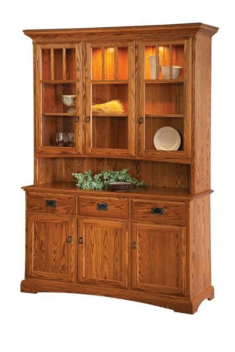 Wood China Cabinet Plans