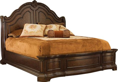 Wood King Bed