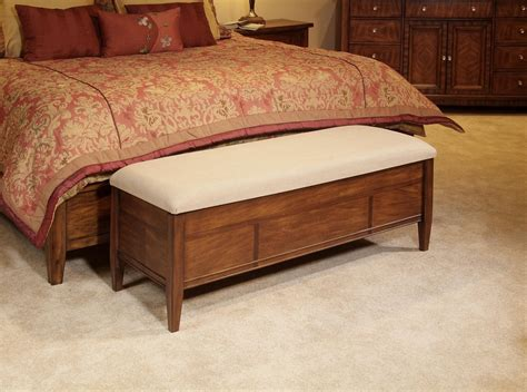 Wood Storage Benches For Bedroom