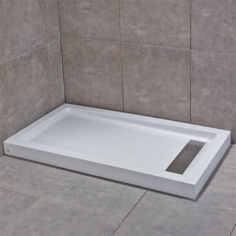 Woodbridge Sbr6036s Reversible Acrylic Shower Base With .