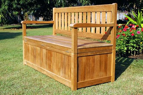 Wooden Bench Plans With Storage