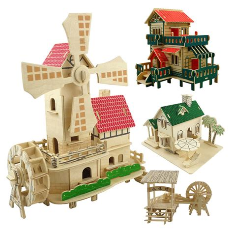 Wooden Building Kits
