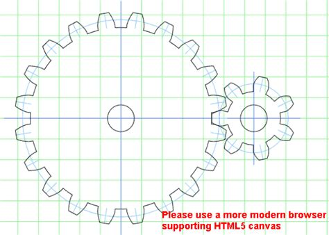 Wooden Gear Template