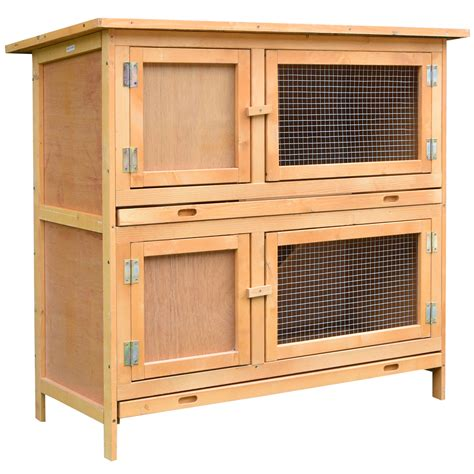 Wooden Rabbit Cage