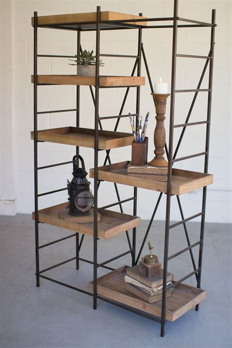 Wooden Shelving Units With Adjustable Shelves
