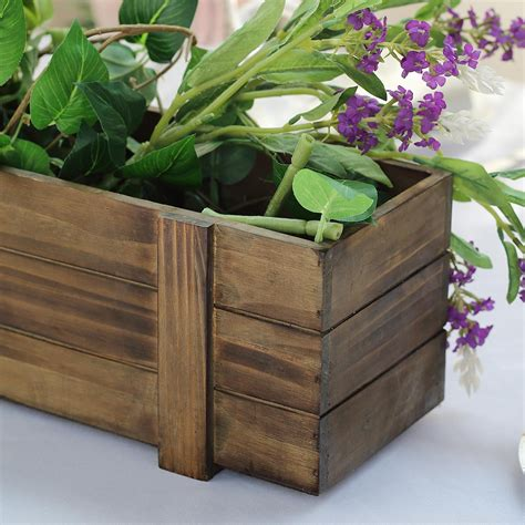 Wooden Square Planters Boxes For Sale  Ebay.