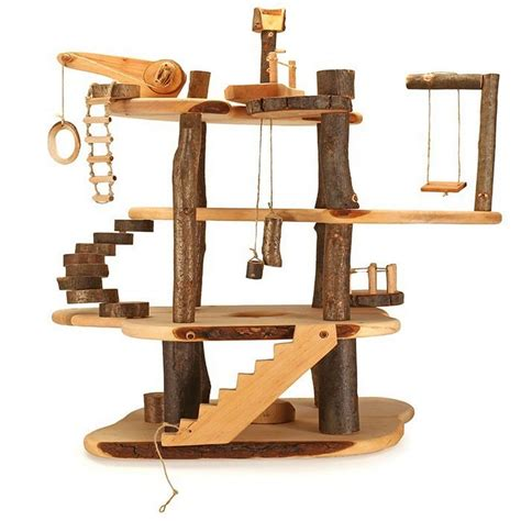 Wooden Treehouse Playset