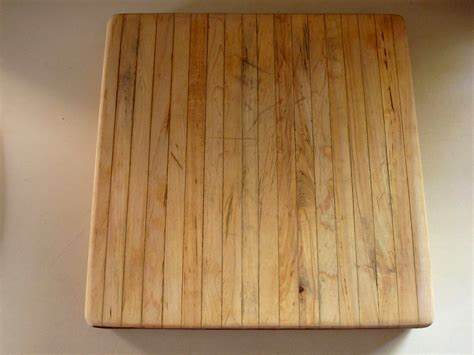 Woodworking Cutting Board Finish