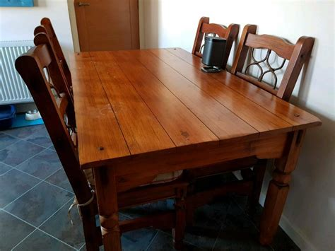 Woodworking Kitchen Table