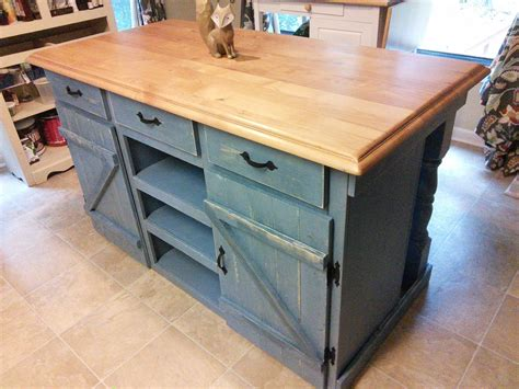 Woodworking Plans For A Kitchen Island