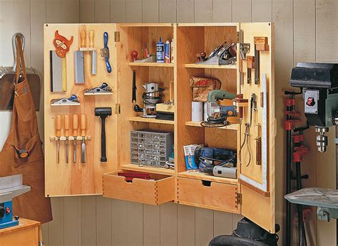 Woodworking Plans Hanging Tool Cabinet