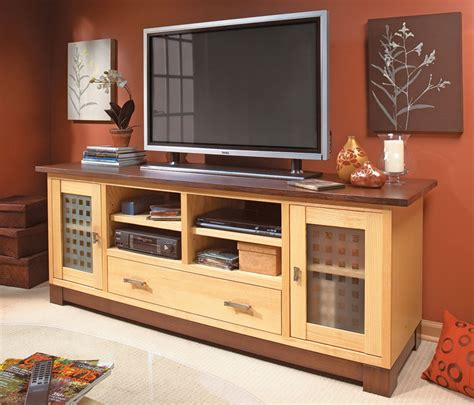Woodworking Plans TV Cabinet