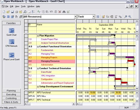 Workbench Project Management Software