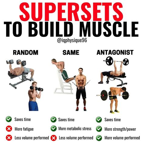 @ Workout Routine Supersets To Build More Size And Strength .