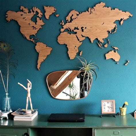 World Map Wall Art - Wayfair Com.