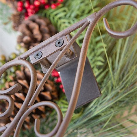 Wreath Hanger - Decorative Antler  Christmas World.